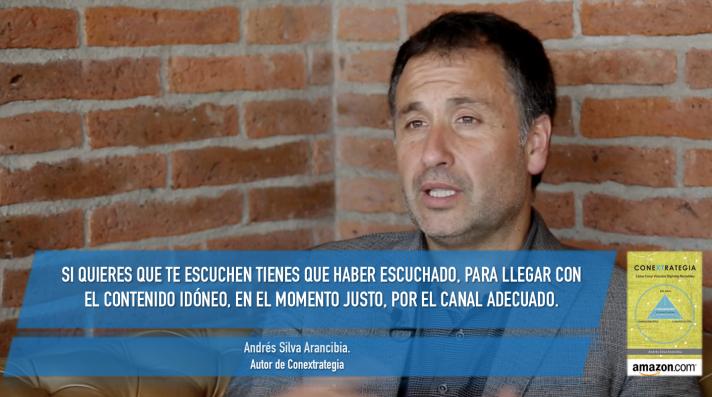ANDRES SILVA ARANCIBIA, CONEXTRATEGIA, CONFERENCIAS, SEMINARIOS, MARKETING DIGITAL
