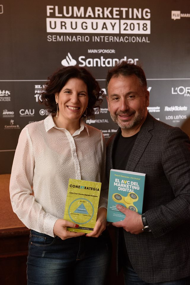conextrategia, andres silva arancibia, libro, marketing digital, raquel oberlander, flumarketing, uruguay