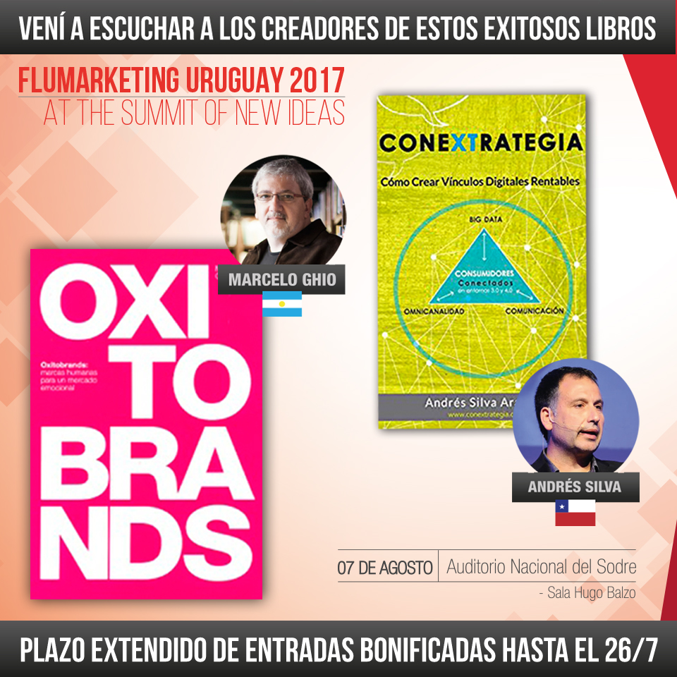 oxitobrands, marcelo ghio, conextrategia, andres silva arancibia, branding, marketing digital, libro, speaker, seminarios, conferencias, charlas